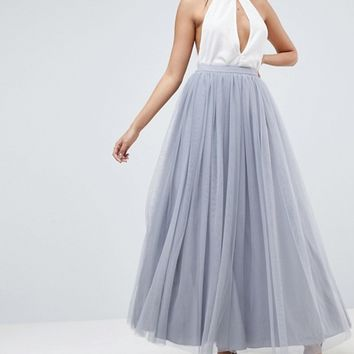 ASOS Tulle Maxi Prom Skirt at asos.com