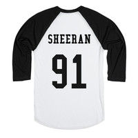 Ed Sheeran Baseball Tee