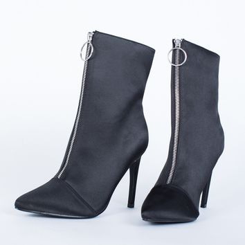 Solo Ring Heel Boots