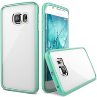 Verus Samsung Galaxy S6 Edge Case Crystal Mixx - Mint Green