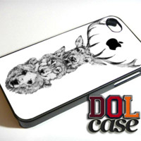 bear wolf deer iPhone Case Cover|iPhone 4s|iPhone 5s|iPhone 5c|iPhone 6|iPhone 6 Plus|Free Shipping| Beta 528