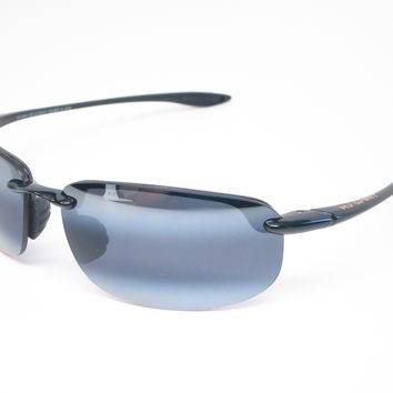 Maui Jim Hookipa 407-02 Gloss Black Polarized Sunglasses