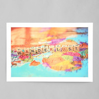 Urban Outfitters - Shannon Blue Wanderlust Art Print