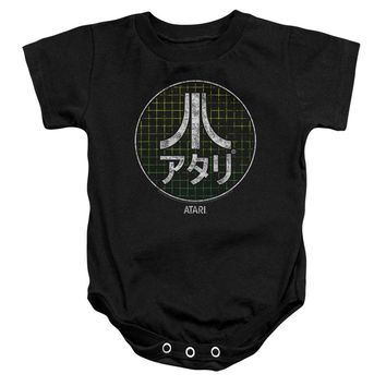 Atari - Japanese Grid Infant Snapsuit Officially Licensed Baby Clothing