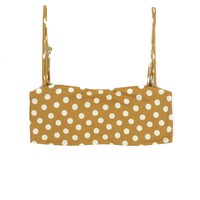 Skin by Same - Bandeau Top | Sunflower Polka Dot