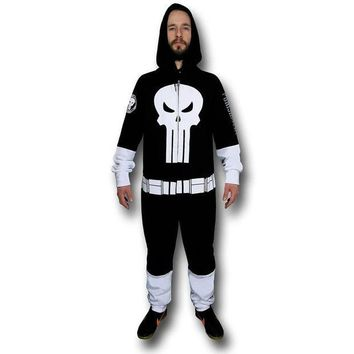PEAPGQ9 The Punisher - Fully Loaded One Costume Jumpsuit