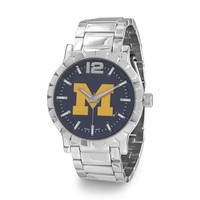 University of Michigan - Collegiate Licensed University of Michigan Men's Fashion Watch