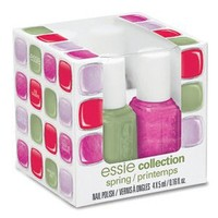 Essie 2012 Spring Collection Nail Color Mega Mini Color Cube 4 piece
