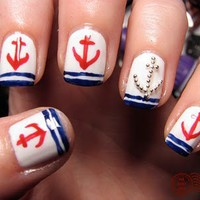 The Daily Nail: Anchors Away!