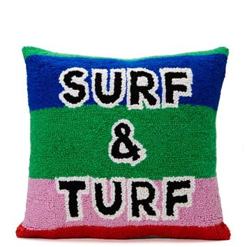 Surf and Turf Pillow