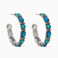 Rodeo Drive Hoops | Fashion Jewelry - Earrings | charming charlie