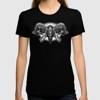 Death's Ahead - Grayscale T-shirt by Artistic Dyslexia | Society6