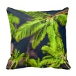 Modern Nature Palm Trees Tropical Chic Pillow