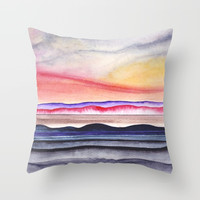 Abstract nature 07 Throw Pillow by marcogonzalez