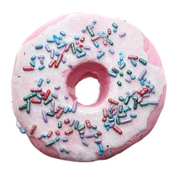 Raspberry Zinger Iced Donut Bubble Bar
