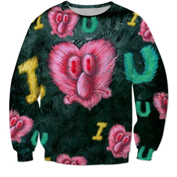 SpongeBob's Eyelashes Sweater