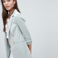 Miss Selfridge double breasted blazer at asos.com