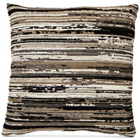 Hallmart Collectibles Varigated Chenille 18 Square Decorative Pillow - Decorative & Throw Pillows - Bed & Bath - Macy's