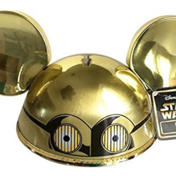 Disney Parks C3PO Mickey Mouse Ears Hat Adult Size