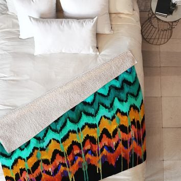 Holly Sharpe African Essence Fleece Throw Blanket