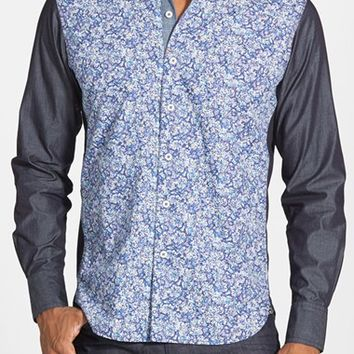 Men's Robert Graham Print Tailored Fit Sport Shirt