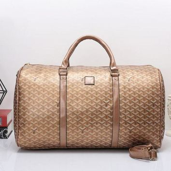 DCCKOB6D Goyard Women Travel Bag Leather Tote Handbag Shoulder Bag