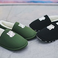 """Undefeated House Slipper """"Olive"""" """"Black"""" UFD"""