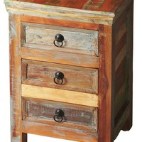 Arya Transitional Rectangular Accent Chest Assorted