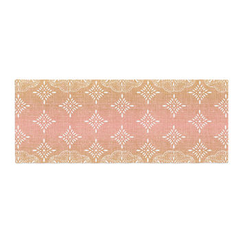 "Suzie Tremel ""Medallion Blush Ombre"" Pink Bed Runner"
