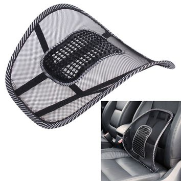 Hot Sale Office Chair Car seat Cover Sofa Cool Massage Cushion Lumbar Back Brace Lumbar Cushion