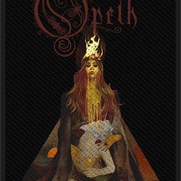 Opeth Sew On Patch Sorceress Persephone Logo