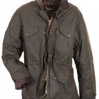 Barbour Mens Sapper Waxed Army-Style Jacket | Royal Male