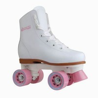 Chicago Skates Rink Roller Skates - Girls (White)