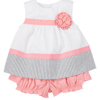 Corsage Striped Two-Piece Set at Gymboree