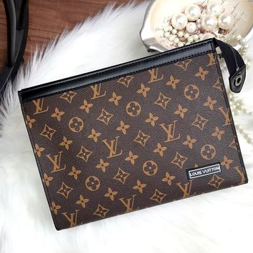 Free Shipping-LV New Clutch Envelope Bag