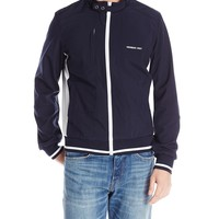 Members Only Men's Four Way Stretch Track Jacket