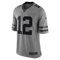 Nike NFL Green Bay Packers Gridiron Grey (Aaron Rodgers) Men's Football Limited Jersey