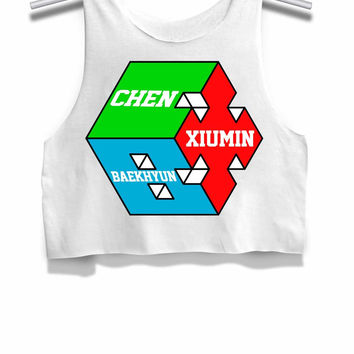 Exo Cbx Womens Crop Tank Top