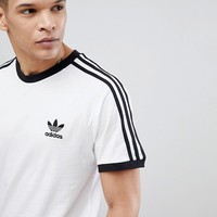 adidas Originals adicolor california t-shirt in white cw1203 at asos.com