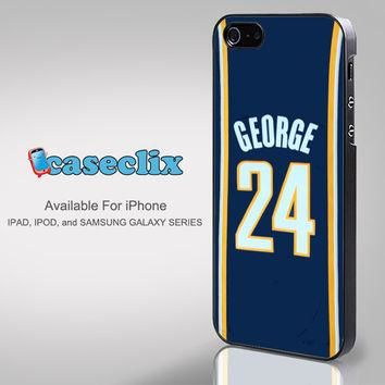 Adidas NBA Indiana Pacers 24 Paul George Jersey for smartphone case