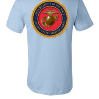 UNITED STATES MARINE CORP DEPARTMENT OF THE NAVY - Unisex T-shirt