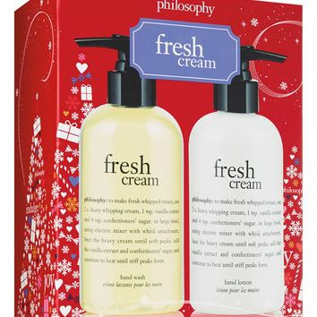philosophy fresh cream hand care set (Limited Edition) | Nordstrom
