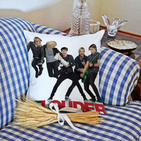 R5 Louder for attractive design pillowcase is made of cotton with a size of 18x18 and 22x22