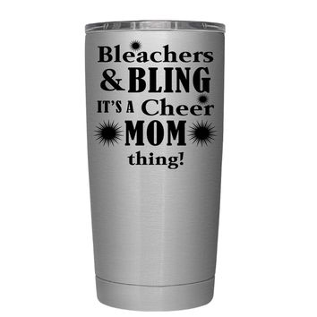 Bleachers & Bling 20 oz Tumbler Cup