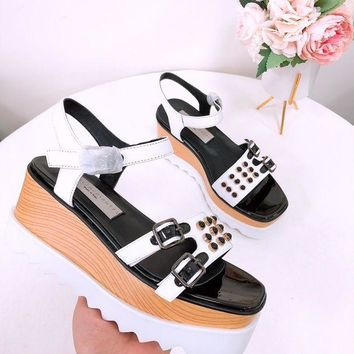 DCCK stella mccartney  Women Casual Shoes Boots  fashionable casual leather