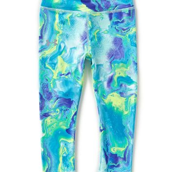 Under Armour Little Girls 2T-6X Printed Dream Wave Leggings | Dillards