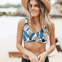 Cupshe Peaceful Time Print Bikini Set