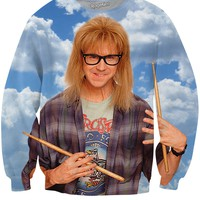 Wayne's World Garth Algar Crewneck Sweatshirt