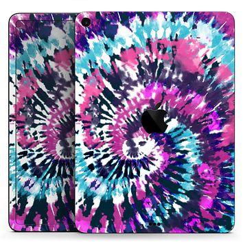 """Spiral Tie Dye V3 - Full Body Skin Decal for the Apple iPad Pro 12.9"""", 11"""", 10.5"""", 9.7"""", Air or Mini (All Models Available)"""
