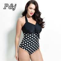 Swimwear 2017 Sexy Swimsuit Women Plus Size Tankini Sets Swim Vintage Beach Wear Bathing Suits Female Bandage Monokini Swim Suit